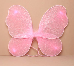 Fairy Wings / Small glitter fairy wings in Pink only