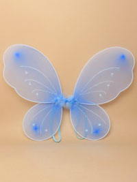 Fairy Wings / Small blue fairy wings 41x35cm.