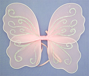 Fairy Wings / Small size in Pink. Size : 28x30cm.