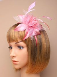 Fascinator / Molly - Narrow aliceband fascinator.