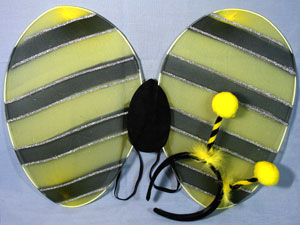Deeley Bopper / Bumble bee set of wings and deeley bopper